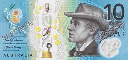 rba new $10 note currency